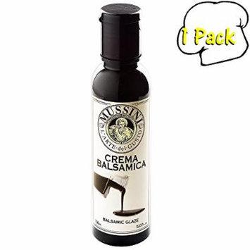 Italian Natural Flavored Dark Natural Balsamic Glaze, 5.1 Ounces