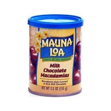 Mauna Loa Milk Chocolate Macadamias, 5.5-Ounce can
