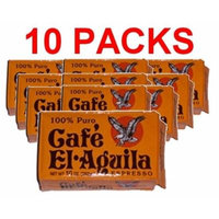 Café El Aguila 10 PACK Espresso Cuban Espresso Ground Coffee 10x250 g