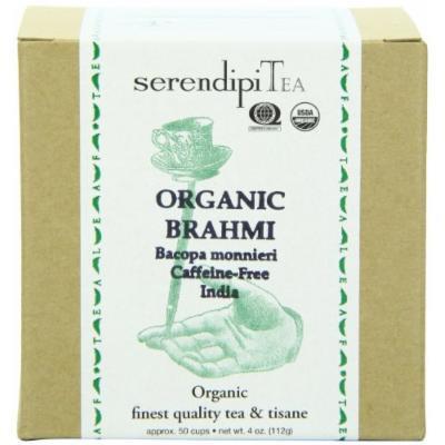 SerendipiTea Brahmi Leaves Organic Tisane, Caffeine-Free, Box, 4-Ounce