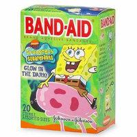 Band-Aid - Children's Adhesive Bandages, SpongeBob SquarePants, Assorted Sizes 20 ea