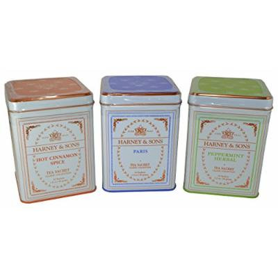 Harney & Sons Classic Tea Collection (Pack of 3) 20 1.2oz Sachets