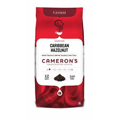 Cameron's Ground Coffee, Caribbean Hazelnut, 12 Ounce