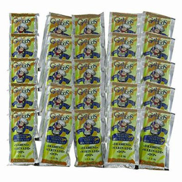 Galeos All Natural Miso Southwest Dressing, 1.1 Oz (Pack of 25) Pouch