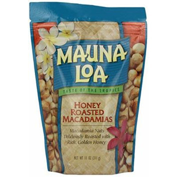 Mauna Loa Honey Roasted Mauna Loa Macadamia Nuts 2 Bags 11oz Each, and 1 Bar of Noni Facial soap and 1 Tube of Gardenia Moisturizing Lotion,