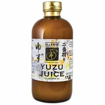 Yakami Orchard 100 % Pure Japanese Yuzu Juice 12 Oz. / 375 Ml (Pack of 3)