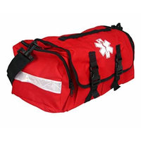Dixigear First Responder On Call Trauma Bag W/ Reflectors (Red)