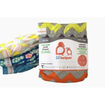 Charcoal Cloth Diapers - Prints (Chevron)