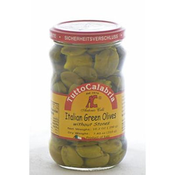Tutto Calabria Pitted Green Olives