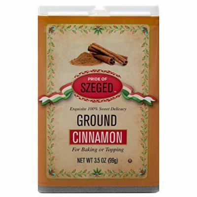Szeged Hungarian Ground Cinnamon-3.5-Ounce Tin