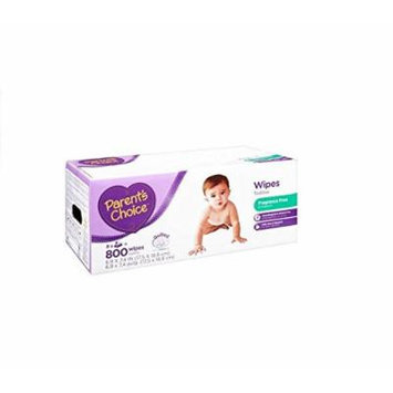 Affordable, Hypoallergenic Unscented Baby Wipes, 800 ct With Aloe and Mild Cleanser