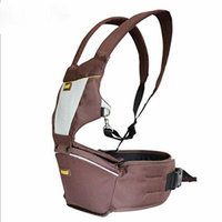 Beddinginn® Multi Functional Comfortable Simple Front Pack Baby Carrier (Brown)