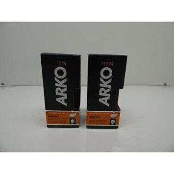 Arko Men After Shave Cream Comfort, Pack of 2, 1.7oz x 2