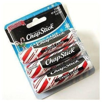 ChapStick® Candy Cane Limited Edition Set of 3 - 3 Pack (9 Total Tubes)