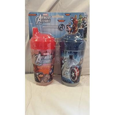 Marvel Avengers Assemble Insulated Sipper Cups (Avengers Assemble)