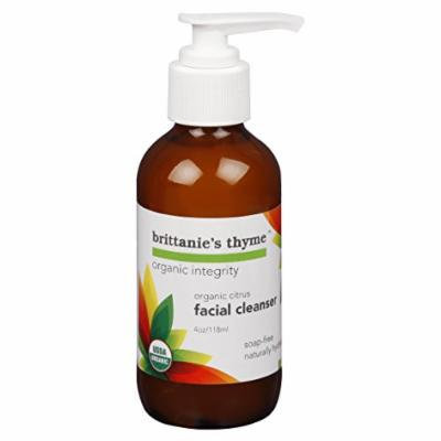 Organic Citrus Facial Cleanser (4 Oz)