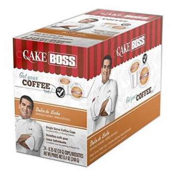 Cake Boss Coffee, Dulce de Leche, 24 Count