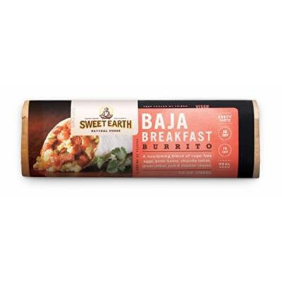 Sweet Earth Burrito, Baja Breakfast, 7 Ounce (Pack of 12)