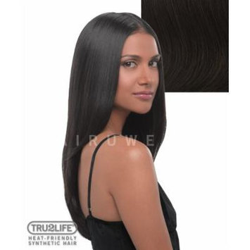 Tru2Life Styleable Extensions - 22 Inch Straight Clip In Extension - R6-Dark Chocolate/Medium Brown