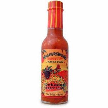 Walkerswood Jonkanoo Seriously Hot Jamaican Pepper Sauce, 5 Oz (Pack of 12)
