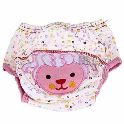 Cotton Reusable Baby Infant Diaper Pant Waterproof Cover Training Sheep Print