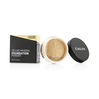 Cailyn Cosmetics Deluxe Mineral Foundation Powder, Sunny Beige, 0.3 Ounce