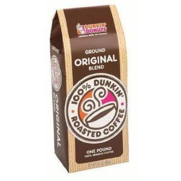 Dunkin Donuts Ground Coffee - Original Blend, 1-lb