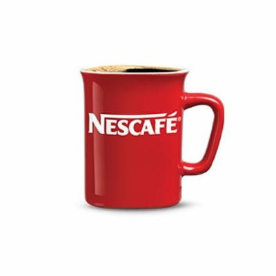 Greek Nescafe Classic Original Red Mug