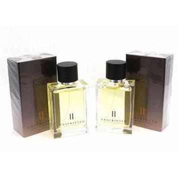 Avon UNSCRIPTED II Patrick Dempsey For Men Eau De Toilette Spray Pack Of 2 x 2.5 oz Sealed