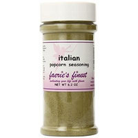 Faeries Finest Popcorn Seasoning, Italian, 6.20 Ounce