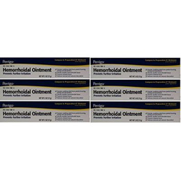 Hemorrhoidal Pain Relief Ointment Generic for Preparation H for Fast Relieves of Internal and External Hemorrhoid Symptoms 2 oz. Per Tube Pack of 6 Total 12 oz.