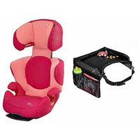 Maxi-Cosi Rodi AP Booster Car Seat with Snack Tray, Origami Rose