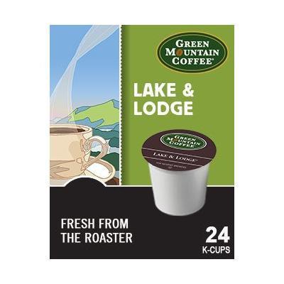 Green Mountain Lake & Lodge Coffee (2 Boxes of 24 K-cups)