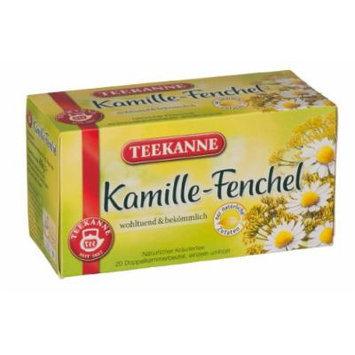 3x Teekanne (Kamille-Fenchel) camomile-fennel (each box 20 tea bags)