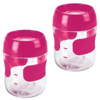 OXO Tot Training Cup, 7 Ounce - Pink, 2 Pack