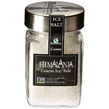 Natierra, Ice Salt Glass Jar Coarse, 9 Ounce