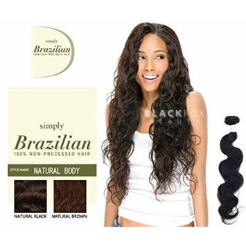 Outre Simply Brazilian Natural Body 100% Non-processed Hair - Natural Brown (12 INCH)