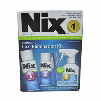 Nix Permethrin Complete Lice Elimination Kit