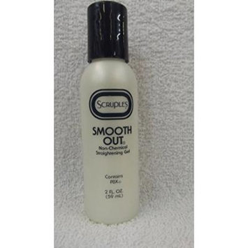 Scruples Smooth Out Non-Chemical Straightening Gel - Contains PBX - 2 fl oz Bottle