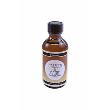 The Prepared Pantry Marsden and Bathe Flavored Extract, Coconut, 2 Fluid Ounce