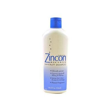 Pack of 3 EACH ZINCON SHAMPOO 8OZ PT#5509321028