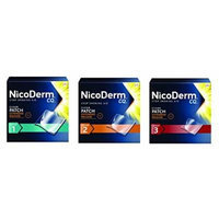 Nicoderm CQ Step 1, Step 2 & Step 3 (14 Clear Patches in each Step) For the Committed Quitters