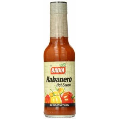 Badia Habanero Hot Sauce, 5.6 Ounce (Pack of 12)