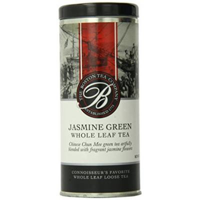 Boston Tea Loose Jasmine Green Tea, 3.0 Ounce