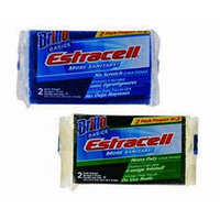 Brillo Basics Estracell No Scratch and Heavy Duty Scrub Sponges 2 Packs of 2