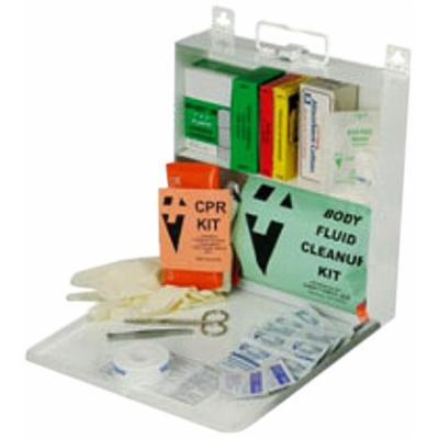 North by Honeywell 34TP165 All in One Kit - First Aid/CPR/BFK - Plastic 24 Unit