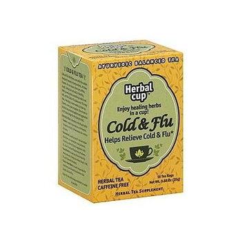 HERBAL CUP TEA HERBAL COLD & FLU, 16 BG