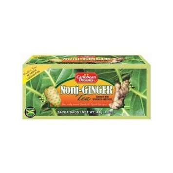 Caribbean Dreams Noni-ginger Tea 20 Bags (Pack of 3)