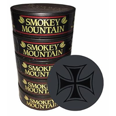 Smokey Mountain Snuff - 5 Cans - Includes Free DC Skin Can Cover (Classic)