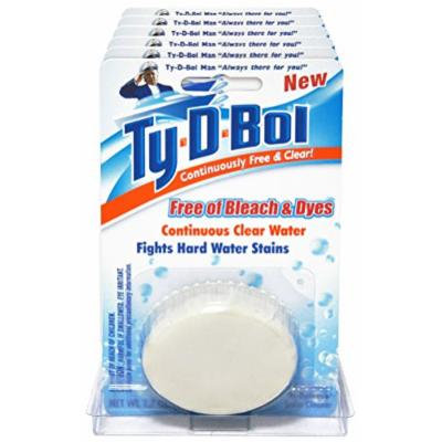 Ty-D-Bol Free and Clear Toilet Bowl Cleaner Tablet (6)